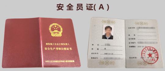 安全员A证(企业主要负责人)