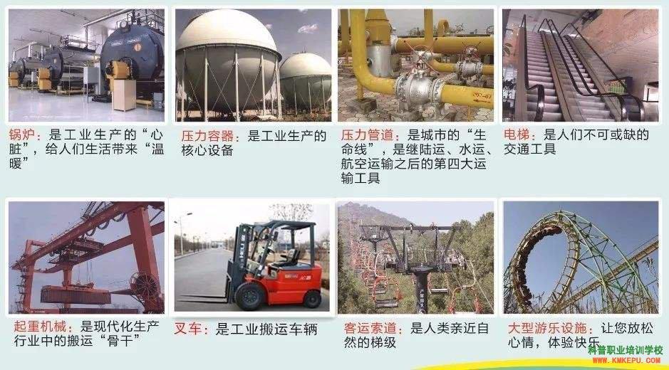 2021云南省特种设备作业叉车证、起重证、压力容器证、安全管理证、锅炉证考试培训简章